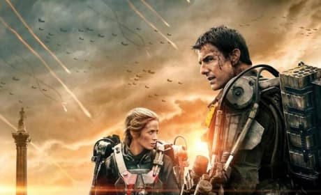 Edge of Tomorrow Emily Blunt Tom Cruise Character Poster