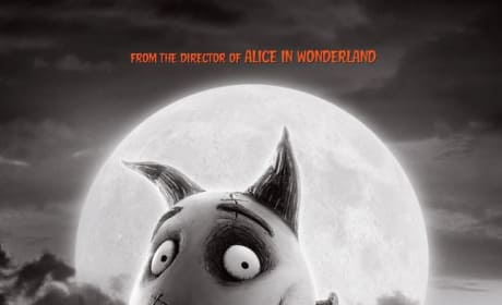 Frankenweenie Poster Debuts: Stop-Motion 'Re-Animation'