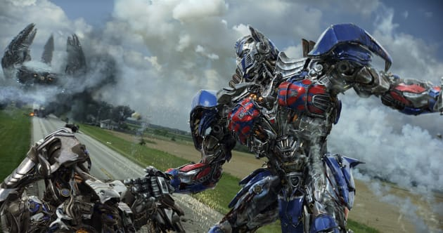 Optimus Prime Action Transformers Age of Extinction