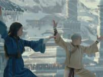 Katara and Aang Train