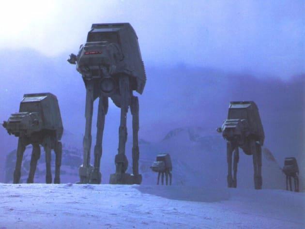 Empire Strikes Back AT-ATs