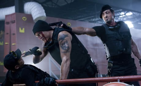 Expendables Fight Off Vampires, Nannies and Piranhas