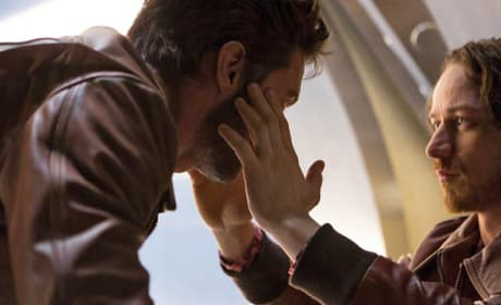 X-Men Days of Future Past James McAvoy Hugh Jackman