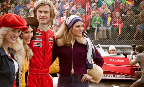 Chris Hemsworth Stars in Rush