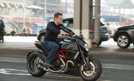 Jack Ryan First Photo: Chris Pine on a Motorcycle