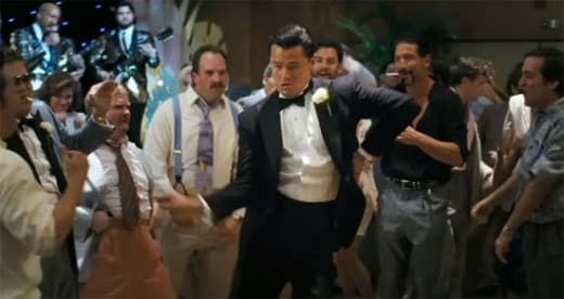 The Wolf of Wall Street Leonardo DiCaprio Dancing