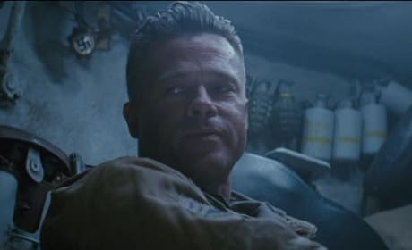 Fury: Five Clips Highlight Brad Pitt & Explosive Cast!