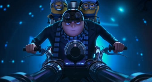 Gru and Minions in Despicable Me 2