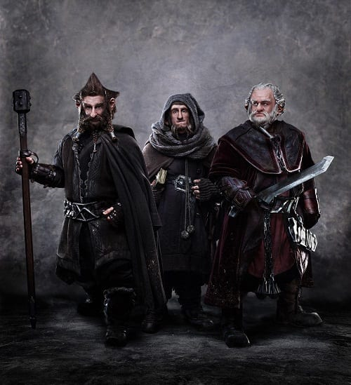 The Dwarf Fighters from An Unexpected Journey