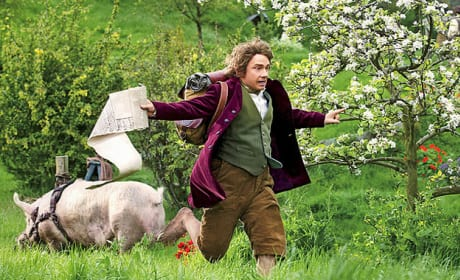 The Hobbit Gets a New Still: Run, Bilbo, Run!