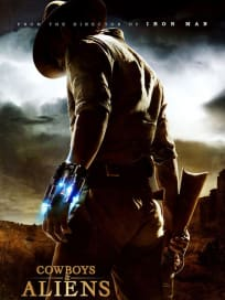 Cowboys & Aliens Teaser Poster