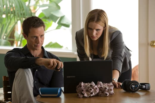 Veronica Mars Jason Dohring Kristen Bell