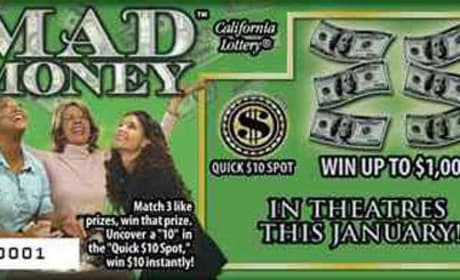 Mad Money Cast Featured in California Lottery