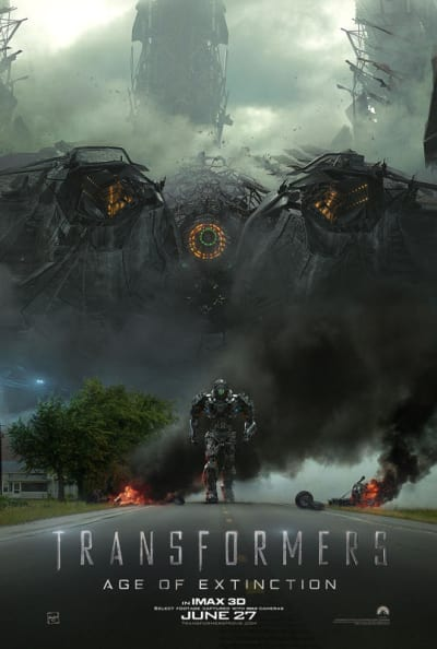 Transformers Age of Extinction IMAX Poster