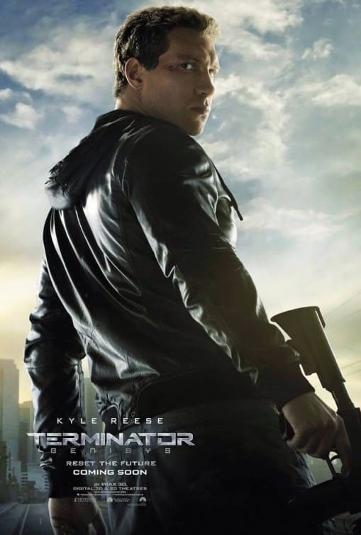 Terminator Genisys Kyle Reese Character Poster