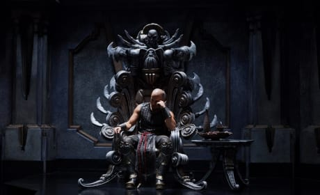 Riddick Gets a New Still: Vin Diesel's Throne