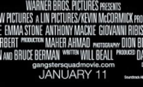 Gangster Squad Credits