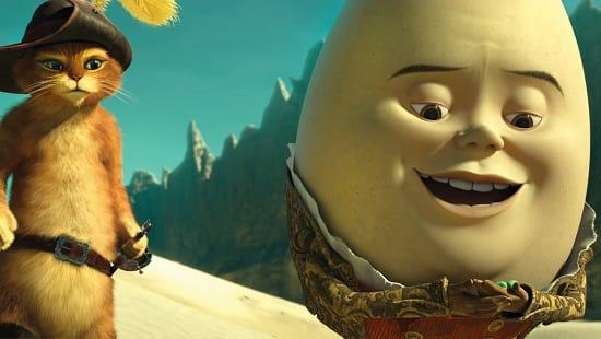 Zach Galifianakis is Humpty Dumpty
