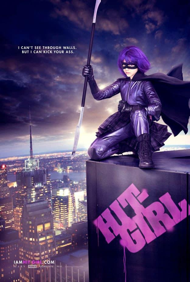 Kick-Ass Hit Girl Poster