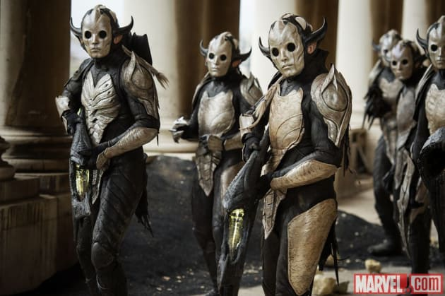 Thor: The Dark World Dark Elves