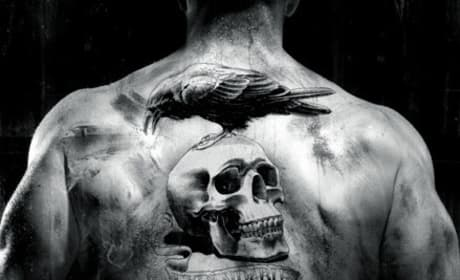 Expendables Back Tattoo Poster