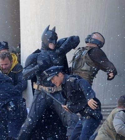 Dark Knight Rises filming