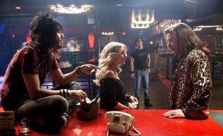 Julianne Hough, Russell Brand and Alec Baldwin in Rock of Ages