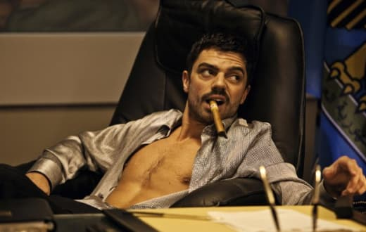 Dominic Cooper as Uday Hussein