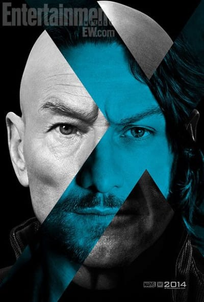 X-Men: Days of Future Past Patrick Stewart James McAvoy