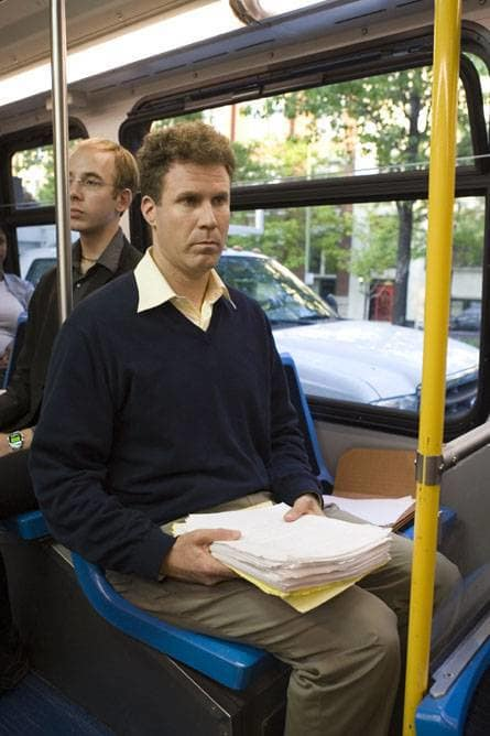 Harold on the bus