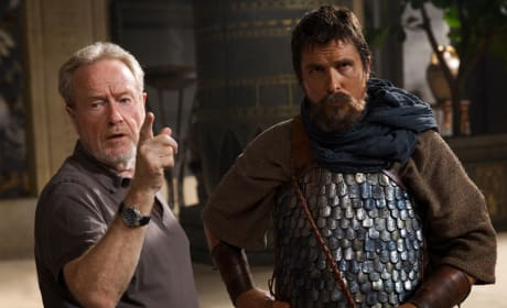 Exodus Gods and Kings Christian Bale Ridley Scott