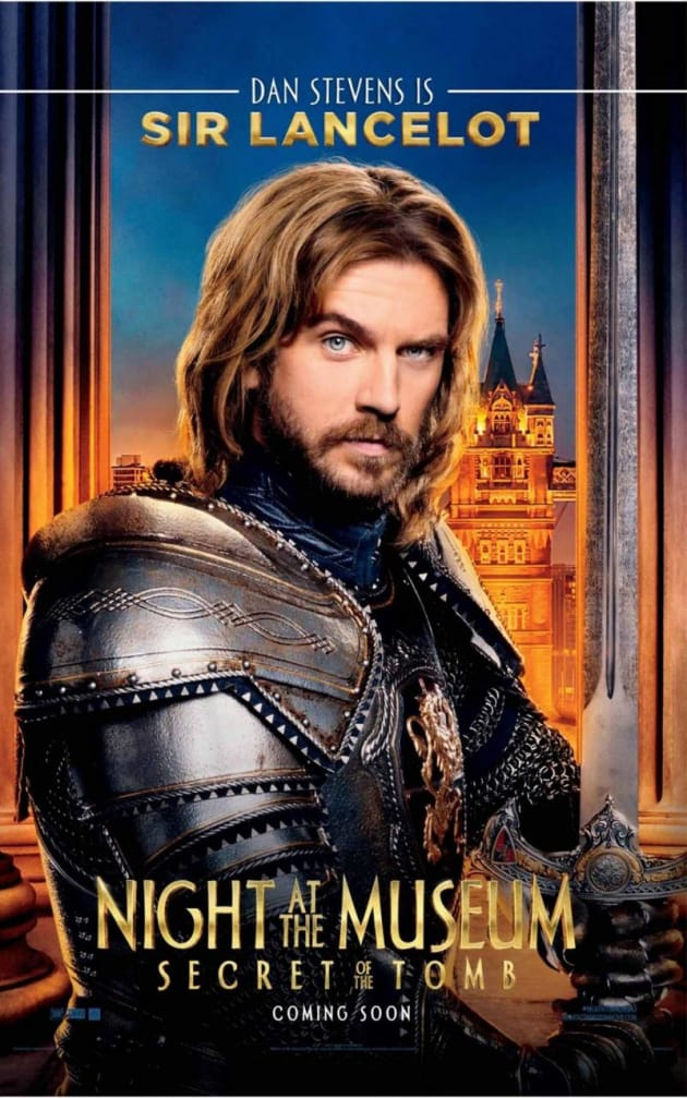 Night at the Museum: Secret of the Tomb Dan Stevens Poster