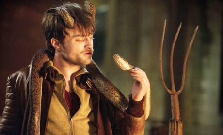 Horns Daniel Radcliffe And Snake