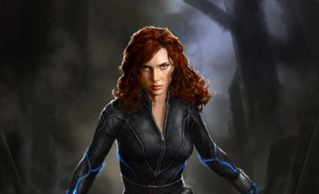 Black Widow Avengers Concept Art