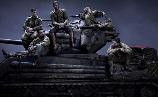Fury Brad Pitt Shai LaBeouf