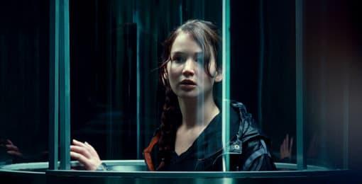 Hunger Games: Jennifer Lawrence as Katniss