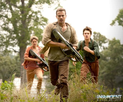 Insurgent Shailene Woodley Theo James