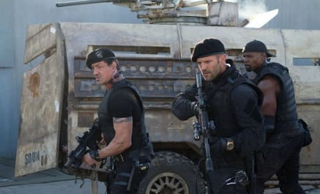 The Expendables 2: Jason Statham Shares His Man Crush
