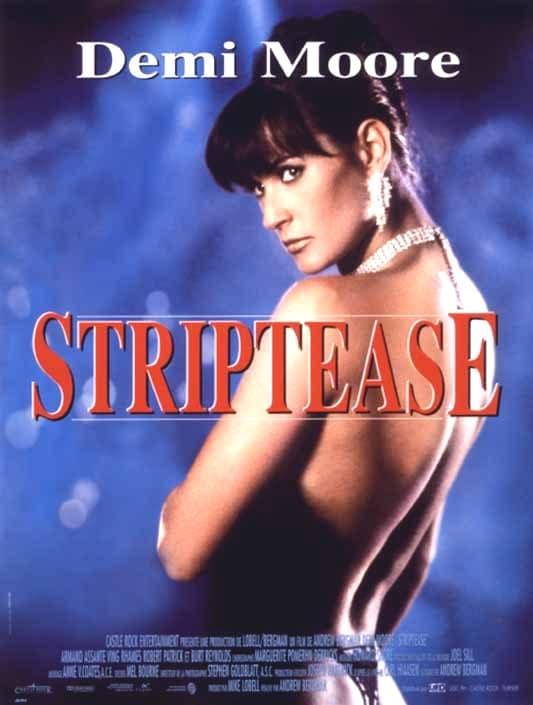 Stripetease Poster