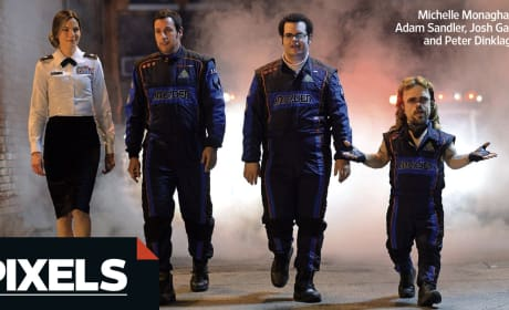 Pixels Photo: First Look at Adam Sandler as Video Game Hero