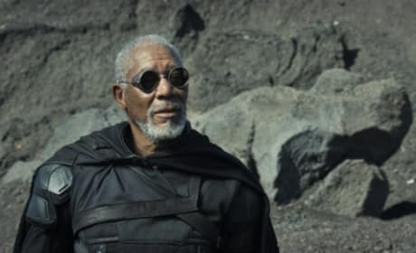 "Oblivion: Morgan Freeman Says in His Future ""We Would All Live in Trees"""