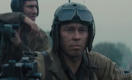 Fury Featurette: First Look at Brad Pitt-Starring Film Debuts at E3!