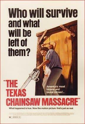 Texas Chain Saw Poster 1 (original)