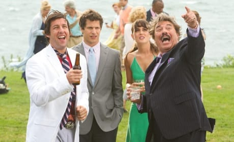 Adam Sandler and Tony Orlando in That's My Boy