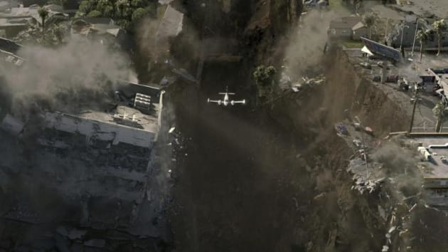 Flyng over the chasm
