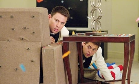21 Jump Street:Jonah Hill and Channing Tatum