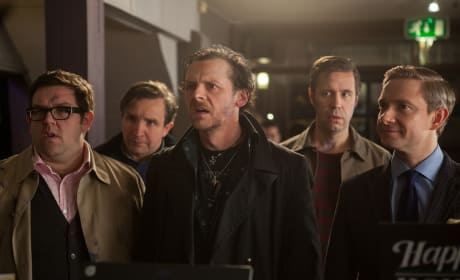 The World's End Nick Frost, Simon Pegg, Martin Freeman