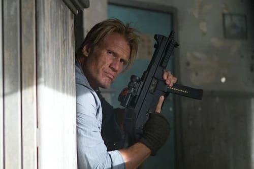 Dolph Lundgren in The Expendables 2