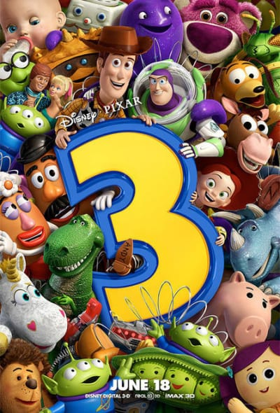 Toy Story 3 Ensenmble Poster