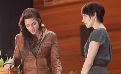 Ashley Greene and Kristen Stewart in The Twilight Saga: Breaking Dawn Part 1
